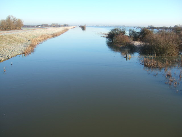 Shades of blue - The Ouse Washes at Mepal