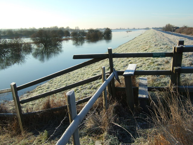 Frosty - The Ouse Washes at Mepal