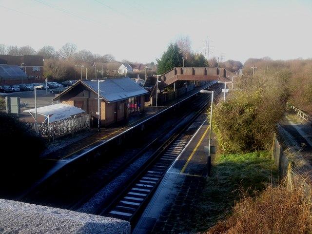 Hedge End Rail Station