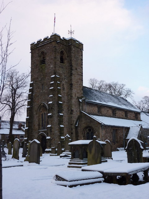 Parish Church of St Mary's & All Saints, Whalley, Tower