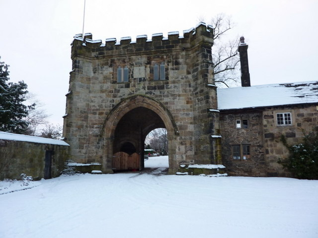 Whalley Abbey, Gatehouse
