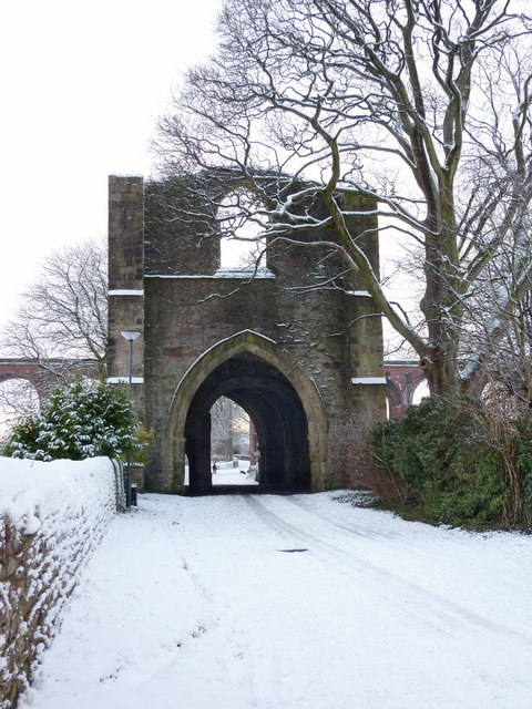 Whalley Abbey, Gateway