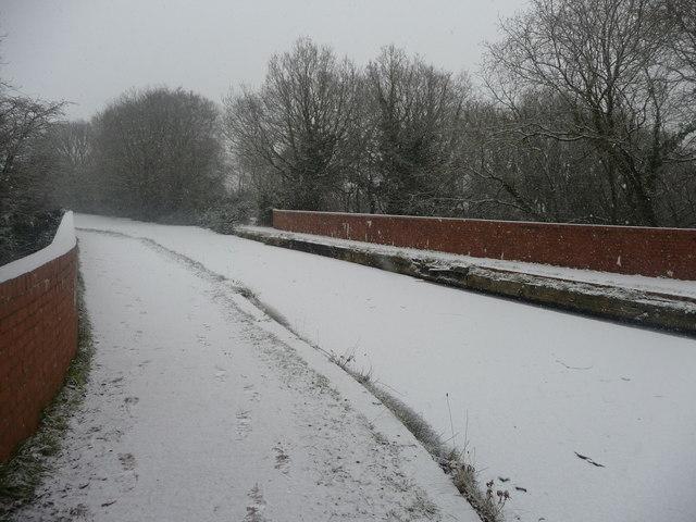 Mid Devon : The Grand Western Canal Aqueduct