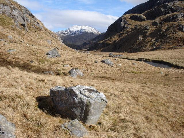 Upper  Gleann an Lochain Eanaiche