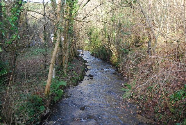 The Washford River near New Mill