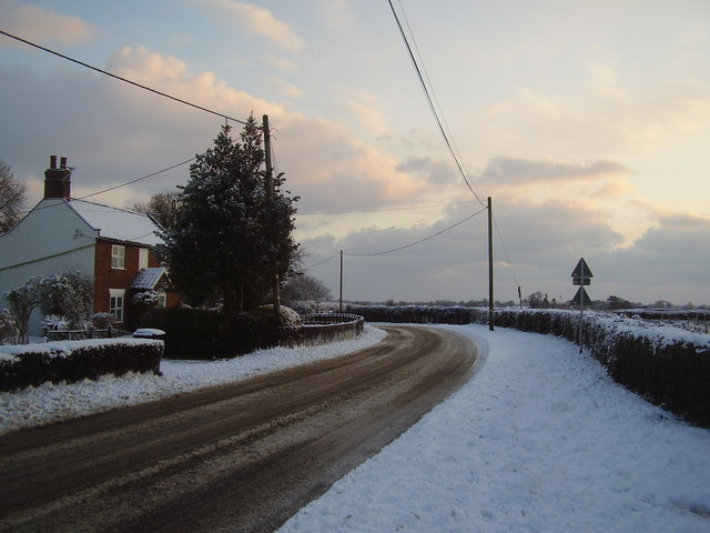 Snow at Seething