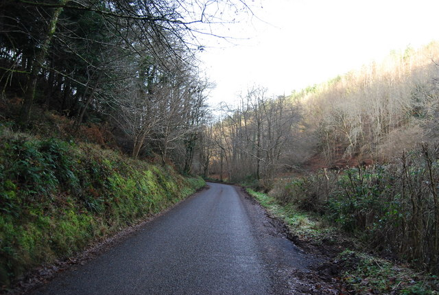 The road into Luxborough