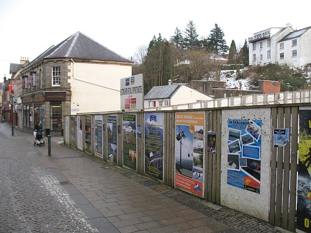 Gap site, High Street,  Fort William
