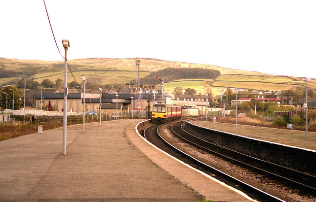 Looking east from Skipton station