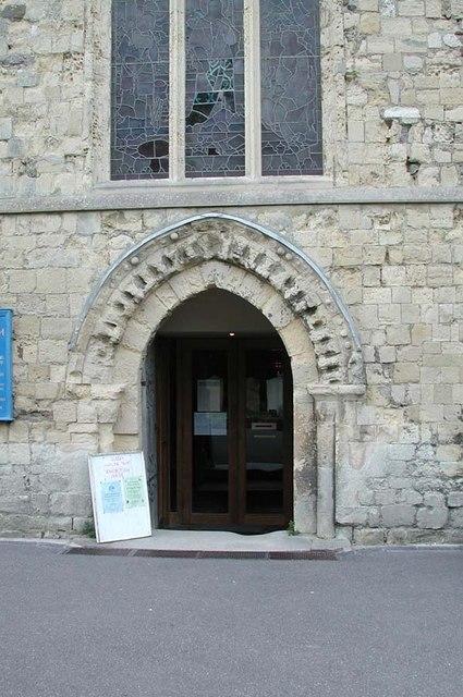 St Mary de Haura, New Shoreham, Sussex - Doorway