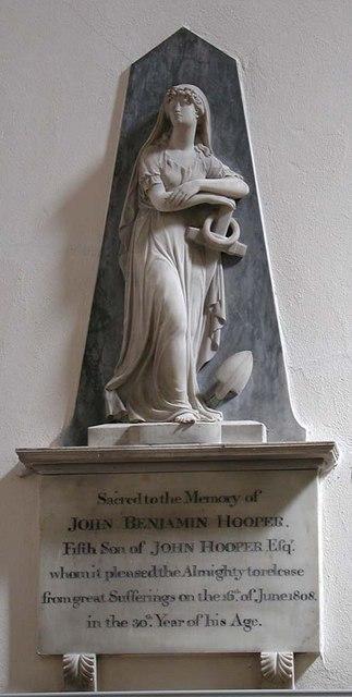 St Mary de Haura, New Shoreham, Sussex - Wall monument
