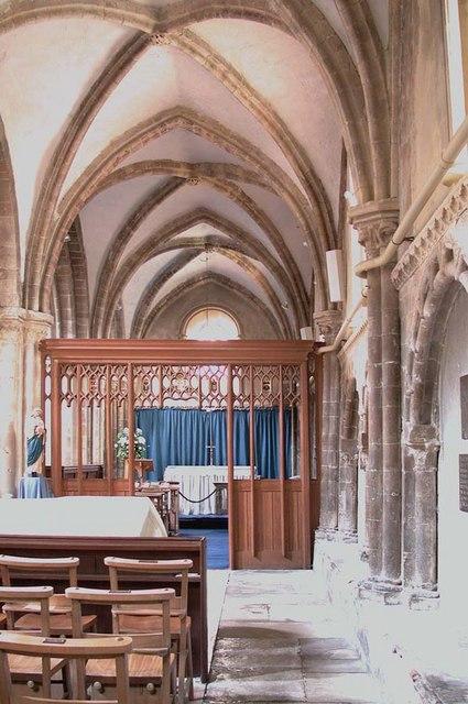 St Mary de Haura, New Shoreham, Sussex - Aisle