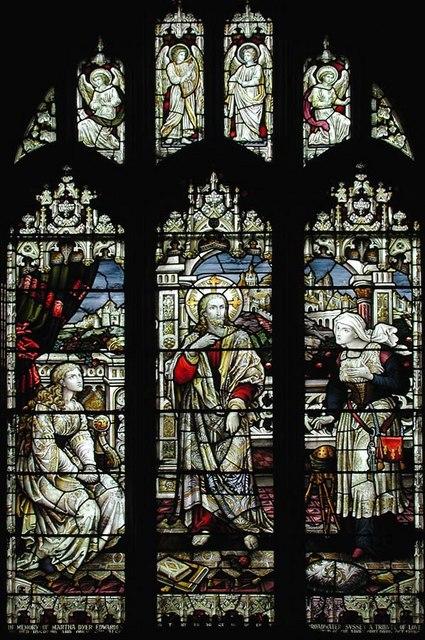St Mary de Haura, New Shoreham, Sussex - Window