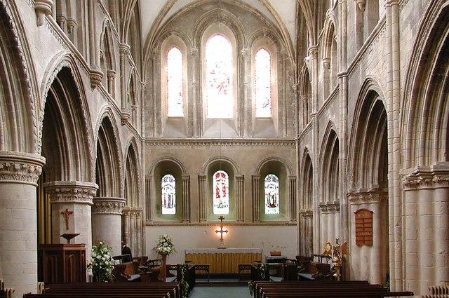 St Mary de Haura, New Shoreham, Sussex - East end