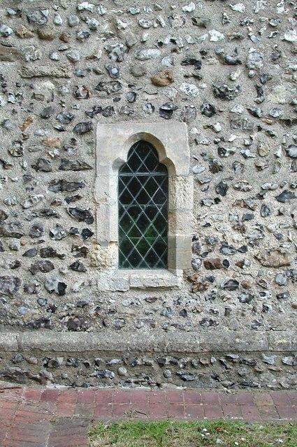 St Nicholas, Old Shoreham, Sussex - Window
