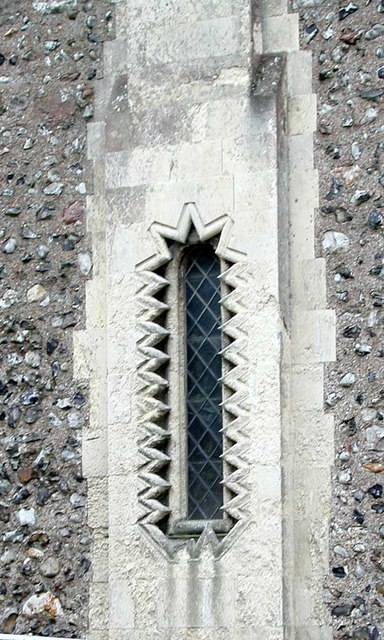 St Nicholas, Old Shoreham, Sussex - Window