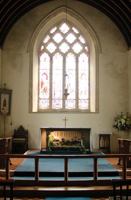 St Nicholas, Old Shoreham, Sussex - Sanctuary