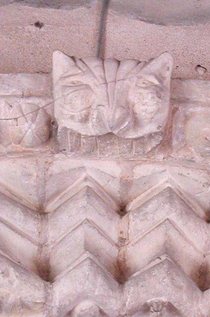 St Nicholas, Old Shoreham, Sussex - Carving