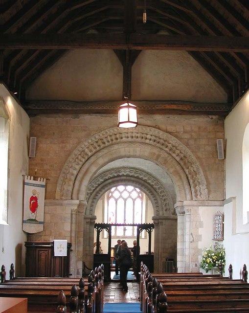 St Nicholas, Old Shoreham, Sussex - East end