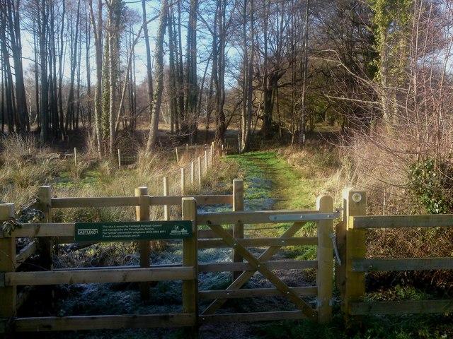 Footpath Tollbar Way to Bubb Lane