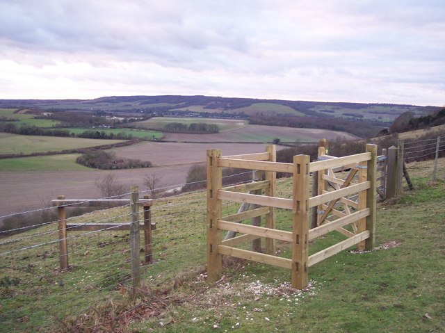 Kissing Gate entrance to Wye National Nature Reserve