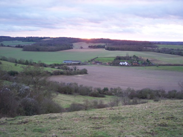 View from Wye National Nature Reserve