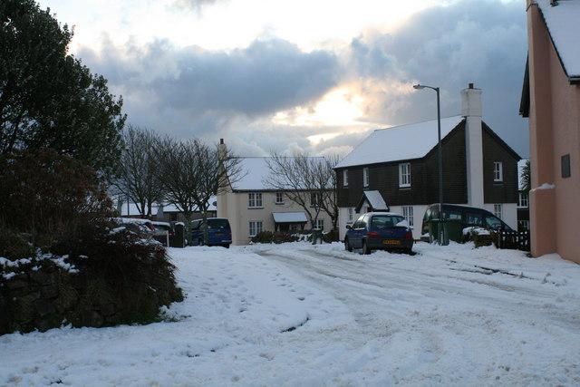 Snowy St. Buryan