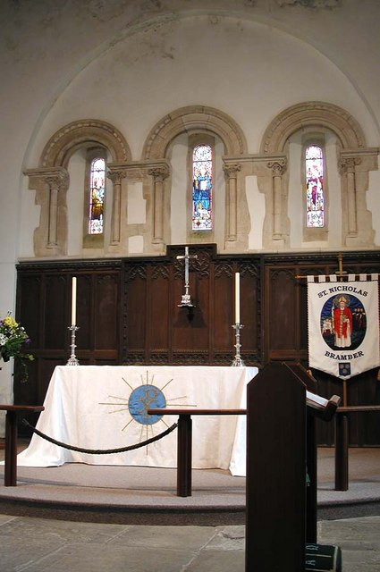 St Nicholas, Bramber, Sussex - Sanctuary