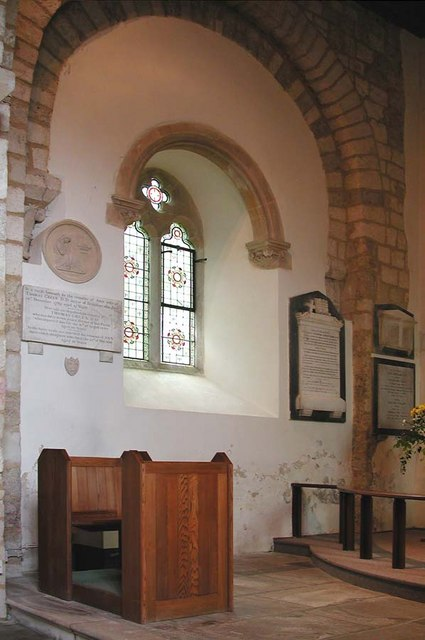 St Nicholas, Bramber, Sussex - Interior