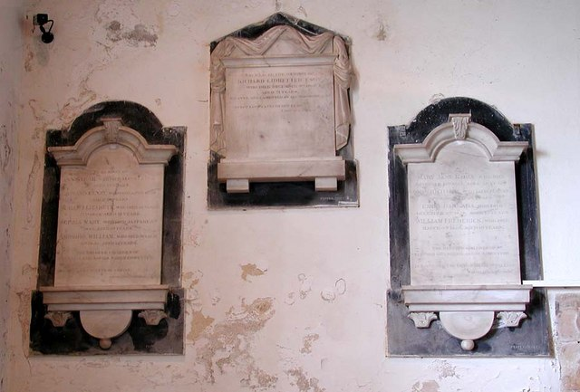 St Nicholas, Bramber, Sussex - Wall monuments