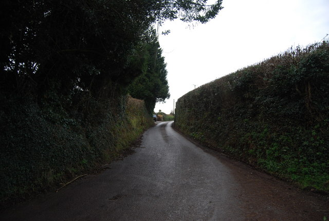 The climb out of Luxborough