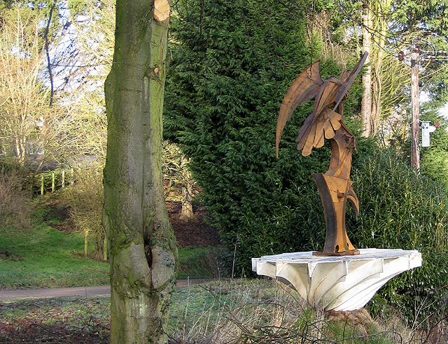 A second new sculpture by Hartleton Water