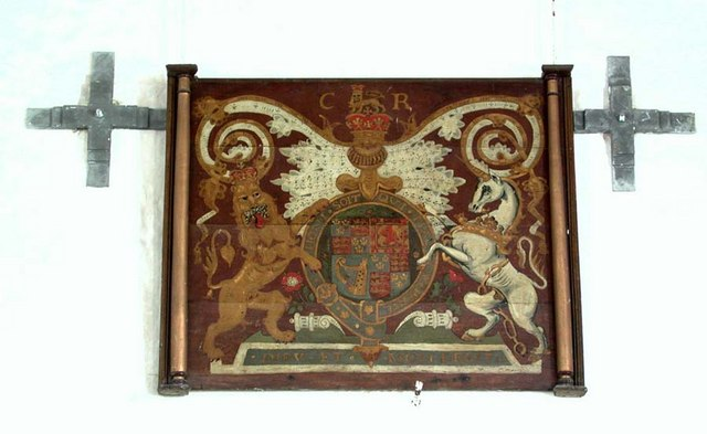 St Botolph, Botolphs, Sussex - Royal Arms