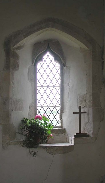 St Botolph, Botolphs, Sussex - Window