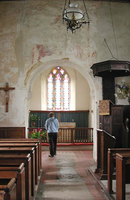 St Botolph, Botolphs, Sussex - East end