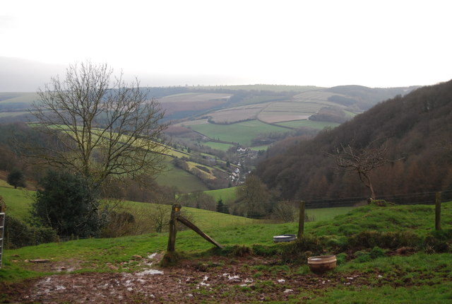 View south beyond Luxborough