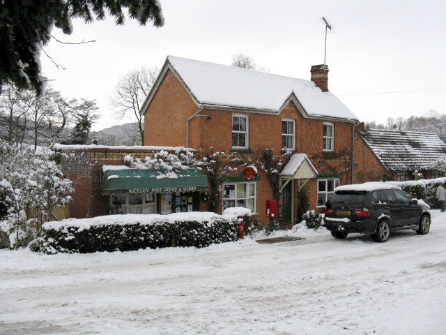 Suckley Post Office In The Snow