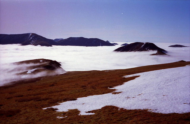 On south ridge of Moruisg
