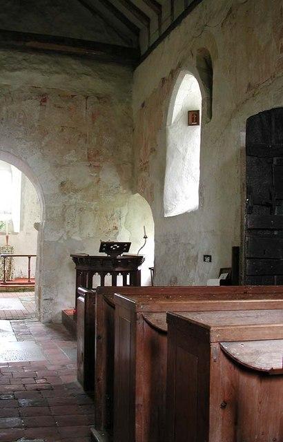 Coombes Parish Church, Sussex - Interior