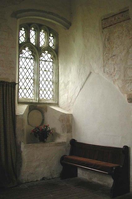 Coombes Parish Church, Sussex - Window