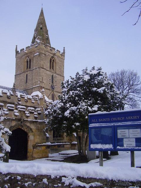 All Saints', Arksey