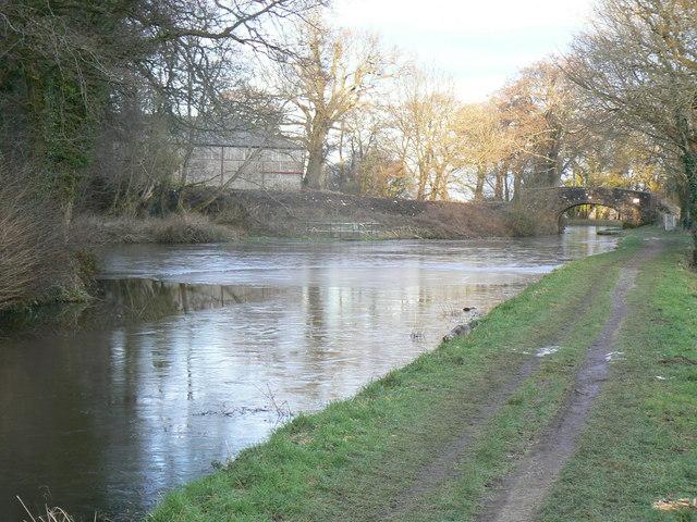 Mon & Brecon Canal bridge & turning point