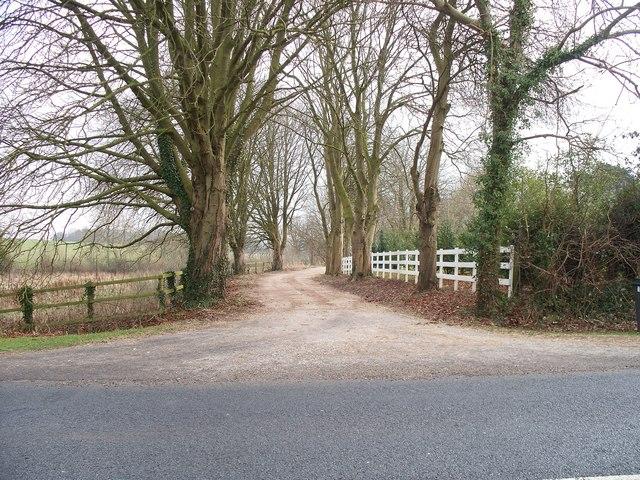 Driveway to Little Barrow