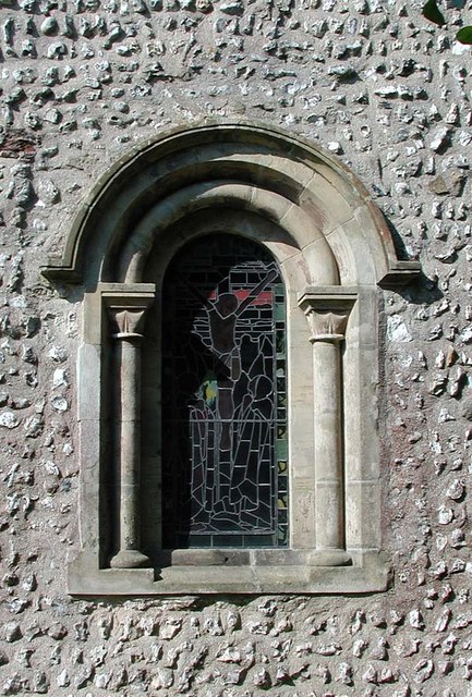 Church of the Transfiguration, Pyecombe, Sussex - Window