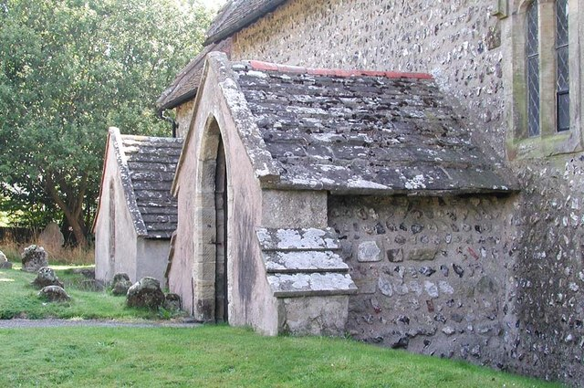 Church of the Transfiguration, Pyecombe, Sussex - Porch