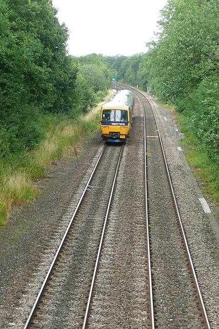 Basingstoke to Reading line