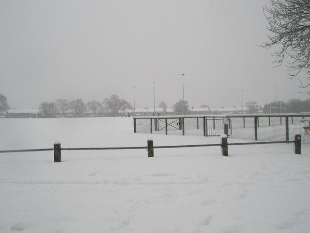 A snowy Hooks Lane Rec (2)