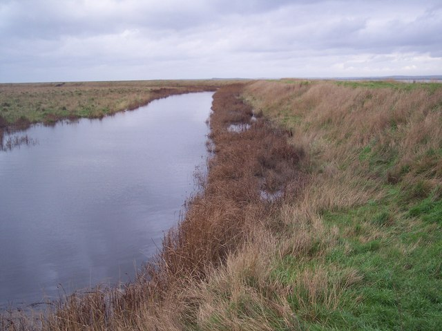 Dyke beside the Sea Wall