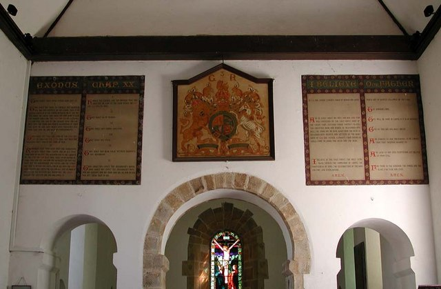 The Church of the Transfiguration, Pyecombe, Sussex - Royal Arms