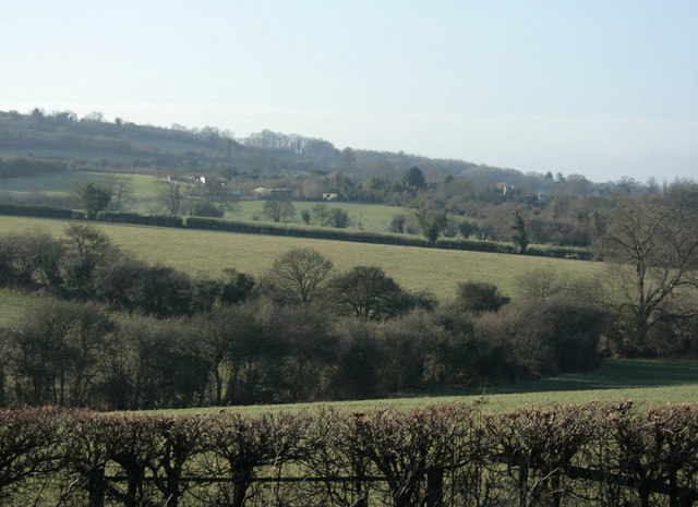 2010 : The western side of Lansdown Hill